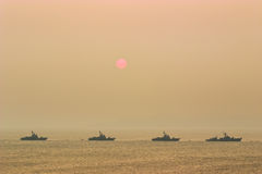 Battleships Stock Photos