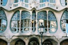 Battlo das casas de Gaudi fotos de stock royalty free
