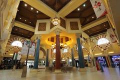 battuta迪拜ibn购物中心购物 免版税库存图片