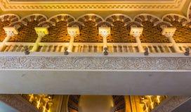 Battuta centrum handlowe jest pięknym supermarketem w Dubaj zdjęcia stock