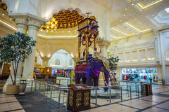 Battuta centrum handlowe jest pięknym supermarketem w Dubaj zdjęcie stock