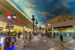 Battuta Mall is the most beautiful supermarket in Dubai Royalty Free Stock Images