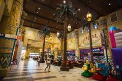 Battuta Mall is the most beautiful supermarket in Dubai Royalty Free Stock Image