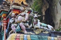 batu使吉隆坡马来西亚陷下近 免版税库存图片