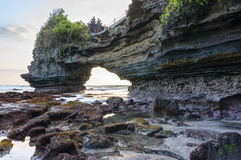 Batu bolong beach bali Royalty Free Stock Images