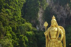 Batu cava a estátua, Kuala Lumpur Fotografia de Stock Royalty Free