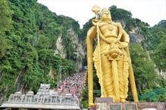 Batu cava o estivador de Kuala em malaysia em Ásia foto de stock royalty free