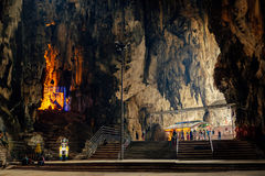 Batu cave inside in Kuala Lumpur Stock Photos