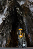 Batu cave with limestone Royalty Free Stock Photo