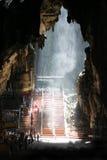Batu Cave Malaysia. Inside the Batu Caves hindu shrine royalty free stock photography