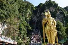Batu Cave Statue. One of most popular attraction in kuala lumpur Stock Photos
