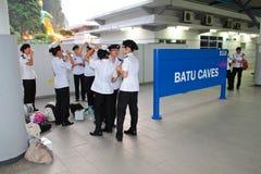 Batu Cave thaipusam 2011 series stock photo