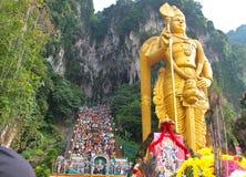 Batu Cave thaipusam 2011 series Stock Images