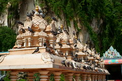 Batu Caves Architectural Detail Royalty Free Stock Photos
