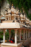 Batu Caves Architectural Detail Royalty Free Stock Images
