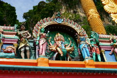 Batu Caves Architectural Detail Stock Images