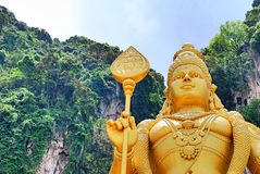 Batu Caves. Hindu murugan background stock photos