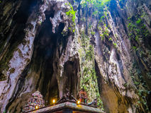 Batu Caves, interior Stock Photography