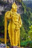 The Batu Caves Lord Murugan in Kuala Lumpur, Malaysia. Stock Photography