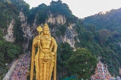 The Batu Caves Lord Murugan Statue, Kuala lumpur, Malaysia. Royalty Free Stock Images