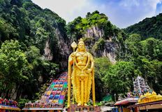 Batu Caves, Malaysia. stock photography