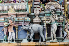 Batu Caves in Malaysia Stock Photos