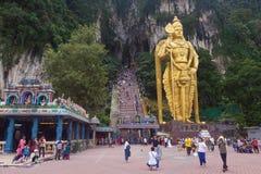 Batu Caves statue Royalty Free Stock Photos