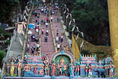 Batu caves statue kuala lumpur malaysia Royalty Free Stock Photos