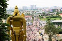 Batu excava el estibador de Kuala en Malasia en Asia fotos de archivo libres de regalías