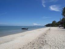 Batu Ferringhi beach, Penang, Malaysia. Batu Ferringhi white sand beach, Penang, Malaysia stock photo