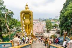 Batu foudroie Kuala Lumpur, Malaisie Image libre de droits