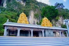 Batu foudroie le temple Photos stock