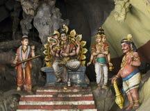 Batu foudroie le temple, Kuala Lumpur Image stock