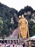 Batu grottor i Kuala Lumpur arkivfoto