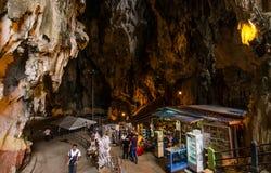 Batu grottor Kuala Lumpur, Malaysia Arkivbild
