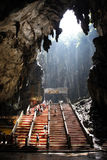 Batu Höhlen lizenzfreie stockfotos