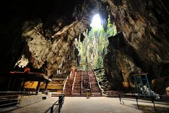 Batu Höhlen lizenzfreie stockbilder