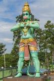 Batu-Höhlen Gott Hanuman-Statue Kuala Lumpur Malaysia hindischer Stockfoto