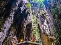 Batu-Höhlen, Innen stockfotografie