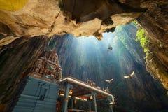 Batu höhlt Tempel in Kuala Lumpur, Malaysia aus stockbild