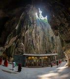 Batu jaskiniowa świątynia Obrazy Royalty Free