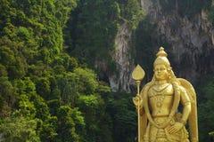 Batu Jaskiniowa statua, Kuala Lumpur fotografia royalty free