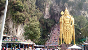 batu jaskiniowy Kuala Lumpur Malaysia blisko Obrazy Royalty Free
