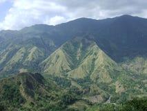 Batu Kabogang (montagne érotique) dans Sulawesi photographie stock