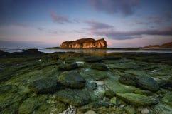 Batu payung lombok, indonesia. Nature rock seascape landscape lovenature sunrise sunset stock photography