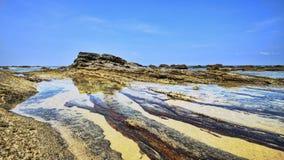 Batu Pelanduk beach Stock Image
