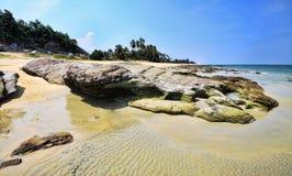 Batu Pelanduk strand Royaltyfria Bilder