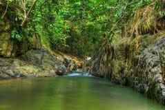 Batu 16. River at Batu 16 Gombak Malaysia royalty free stock photography