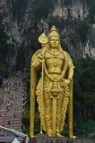 Batu scava i turisti Kuala Lumpur Malesia immagini stock