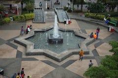 Batu-Stadtmarktplatz stockbilder